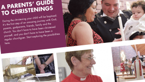 CofE Christenings website