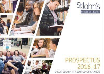 St Johns Nottingham – Prospectus