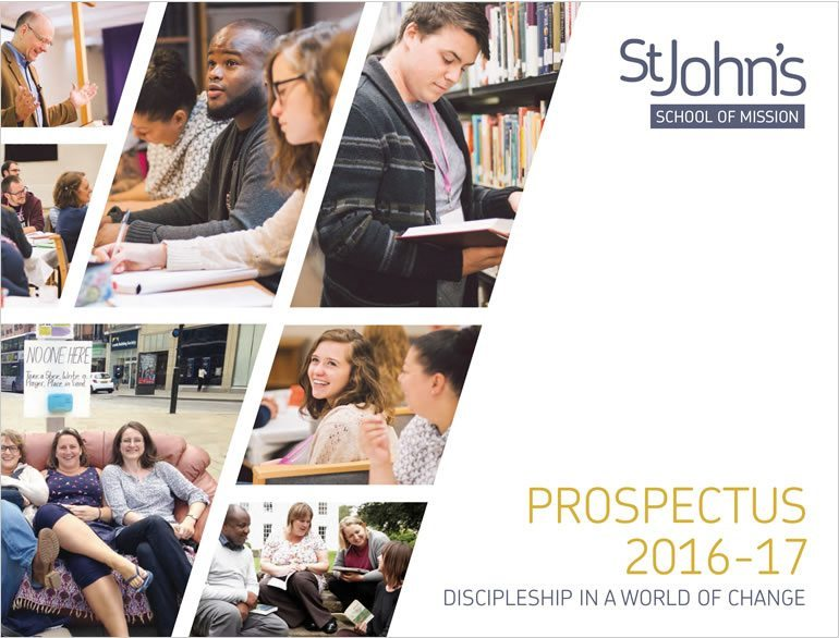 St Johns Prospectus front cover