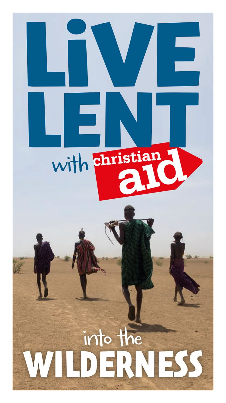 Live Lent with Christian Aid book cover