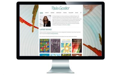 New website for Paula Gooder