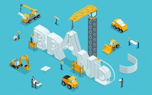Building a brand illustration