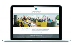Image of Woodbrooke website