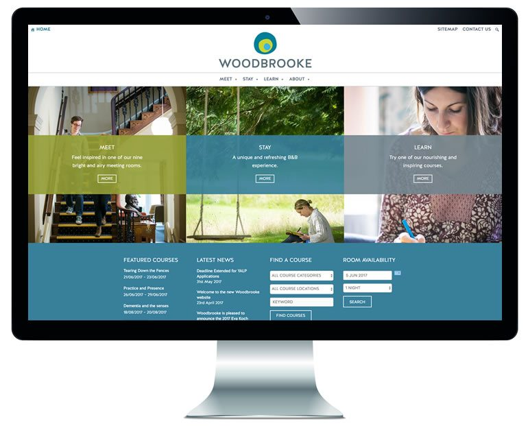 Woodbrooke website