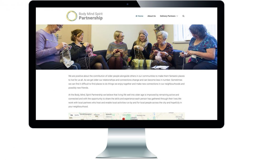 Launch of the Body Mind Spirit Partnership website