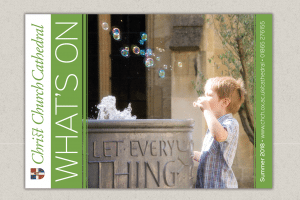 Cover of Christ Church Cathedral What's On guide