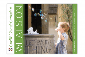 Christ Church Cathedral What's On Guide cover