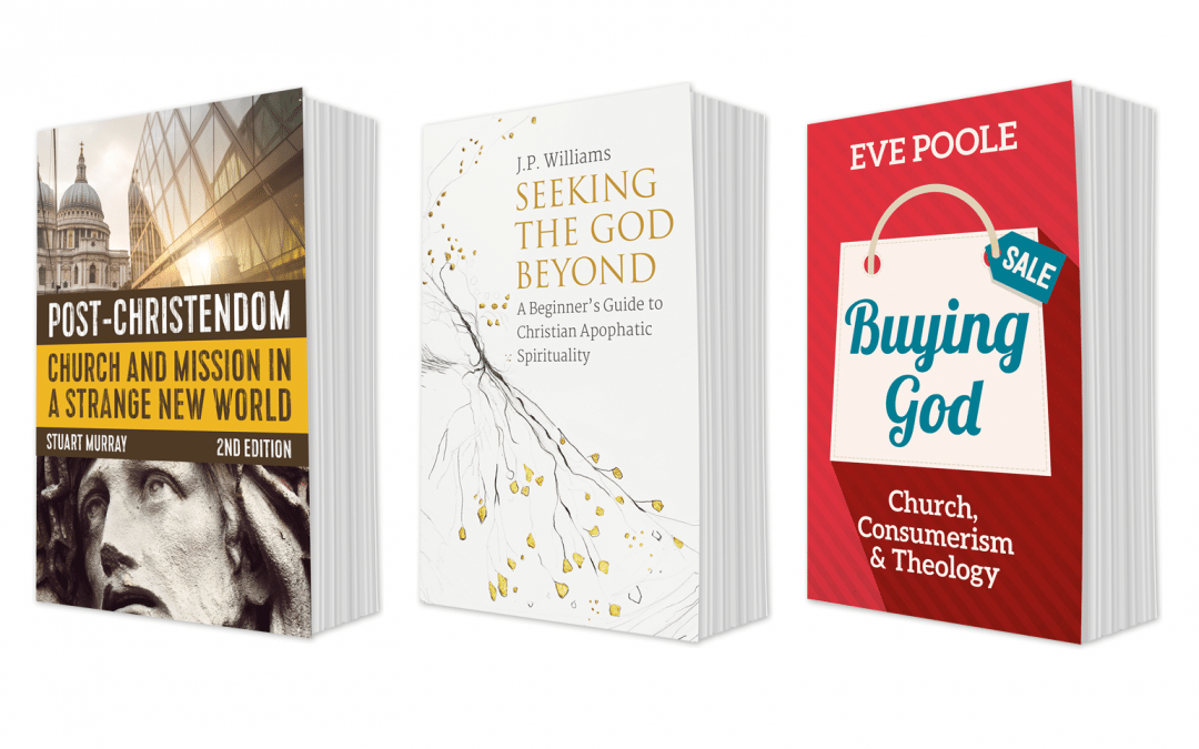 Book covers for SCM Press