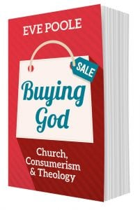 Buying God by Eve Poole. Design by Penguin Boy