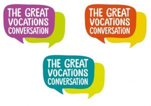 Great Vocations logo colour variations