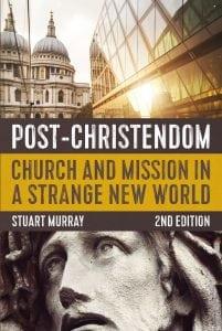 Post-Christendom. Author Stuart Murray. Designed by Penguin Boy.