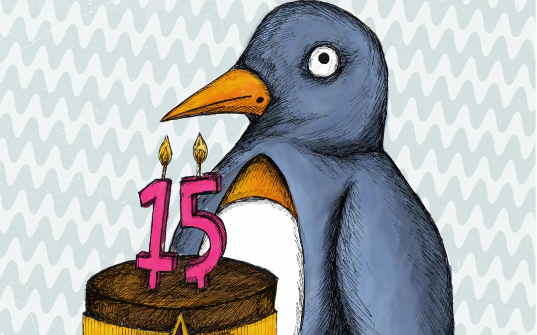 Penguin Boy is 15!