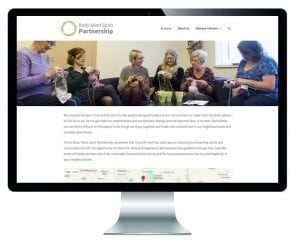 The Body Mind Spirit Partnership website