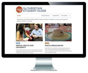 The Christian Student Guide website