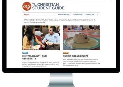 Christian Student Guide Website