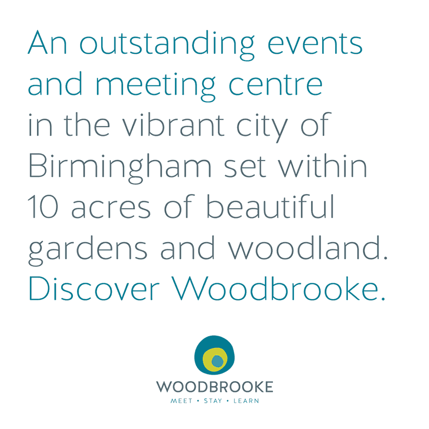 Woodbrooke Conference Brochure front cover