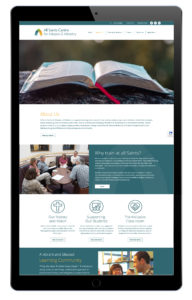 About is page of All Saints Centre website