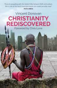Christianity Rediscovered by Vincent Donovan book cover design