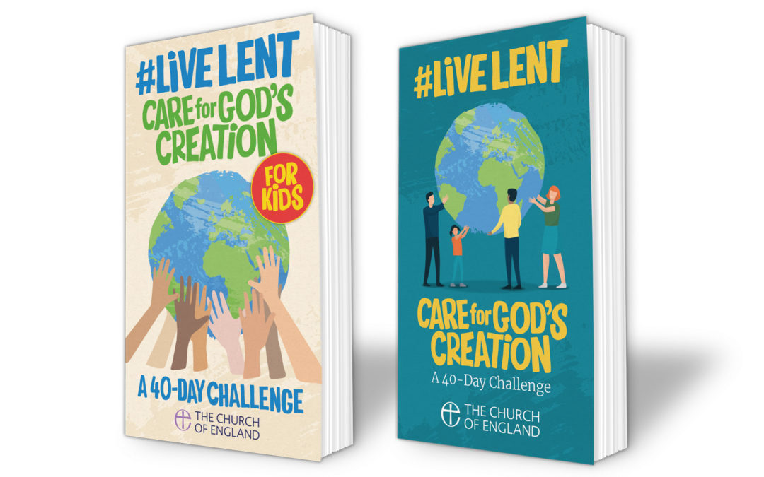 Live Lent: Care for God's Creation books for 2020