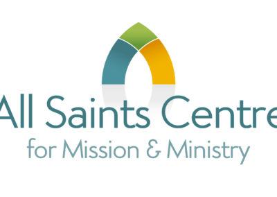 All Saints Centre branding